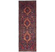 Link to 3' 6 x 10' Mazlaghan Persian Runner Rug