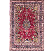 Link to 200cm x 292cm Mashad Persian Rug