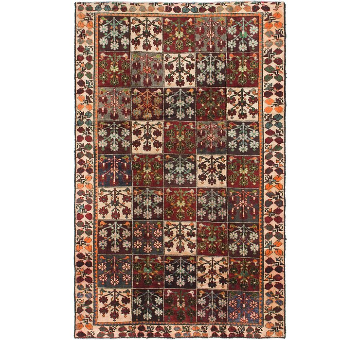 4' 10 x 7' 9 Hamedan Persian Rug