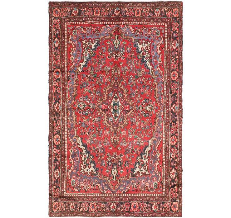 188cm x 305cm Hamedan Persian Rug