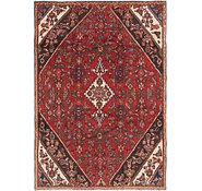 Link to 5' 5 x 8' Hamedan Persian Rug