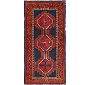 Link to 4' 2 x 8' 6 Shiraz Persian Runner Rug