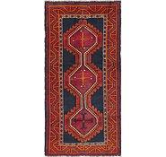 Link to 4' 2 x 8' 6 Shiraz Persian Runner Rug