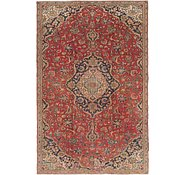 Link to 5' 9 x 9' Kashan Persian Rug