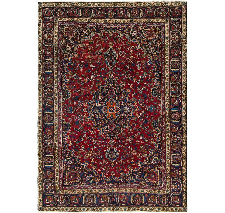 6' 3 x 8' 8 Mashad Persian Rug
