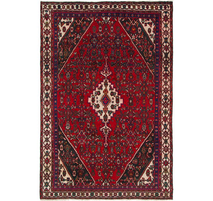 190cm x 292cm Hamedan Persian Rug