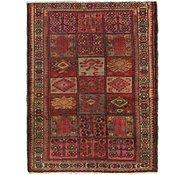 Link to 3' 5 x 4' 9 Hamedan Persian Rug