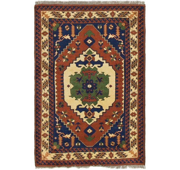 3' 4 x 5' Balouch Persian Rug