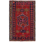 Link to 2' 4 x 4' Hamedan Persian Rug