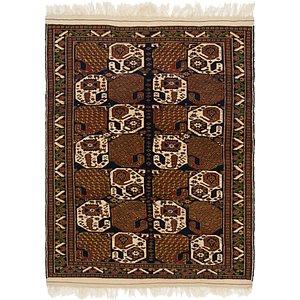 4' x 5' 3 Ghoochan Persian Rug