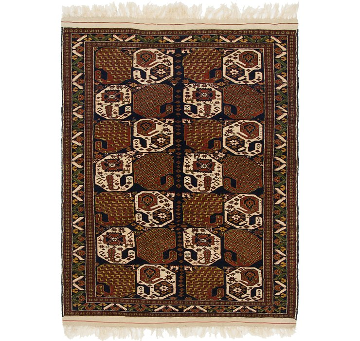 122cm x 160cm Ghoochan Persian Rug