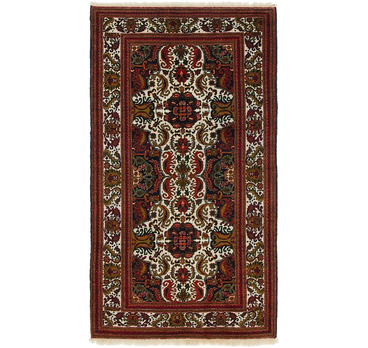 102cm x 188cm Balouch Persian Rug