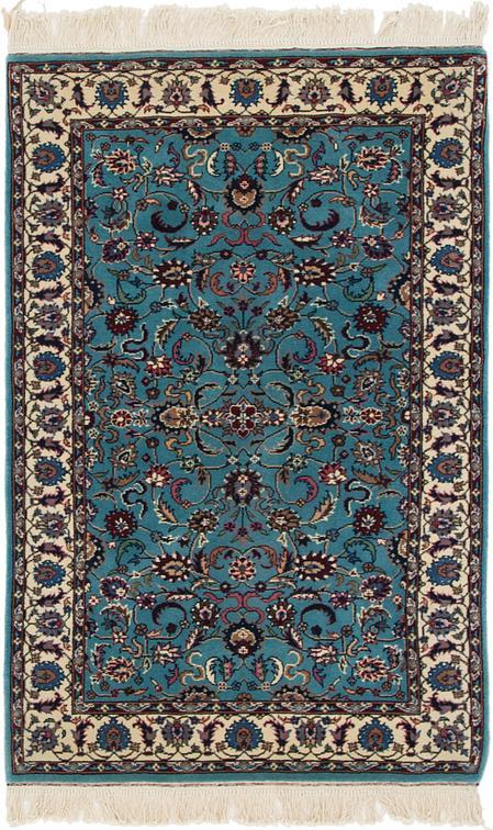 Blue 3 X 5 Isfahan Oriental Rug Oriental Rugs Esalerugs