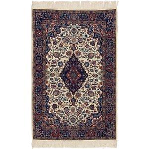 3' 7 x 5' 7 Isfahan Oriental Rug