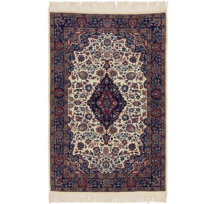 110cm x 170cm Isfahan Oriental Rug