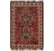 Link to 3' 5 x 5' 2 Ghashghaei Persian Rug
