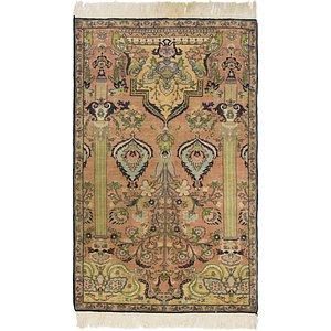 Unique Loom 3' x 5' 2 Lahour Oriental Rug