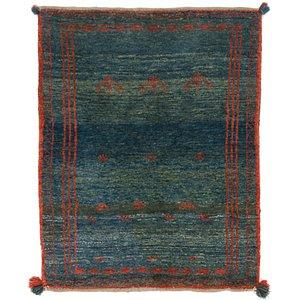 Unique Loom 3' 5 x 4' 4 Shiraz-Gabbeh Persian Rug