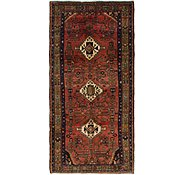 Link to 4' 3 x 9' Hamedan Persian Runner Rug