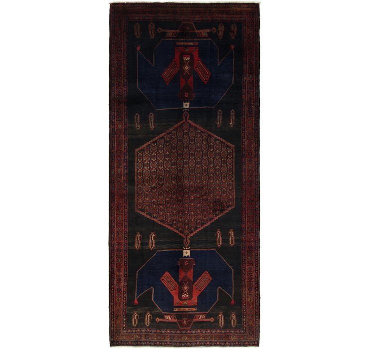 157cm x 360cm Sirjan Persian Runner Rug