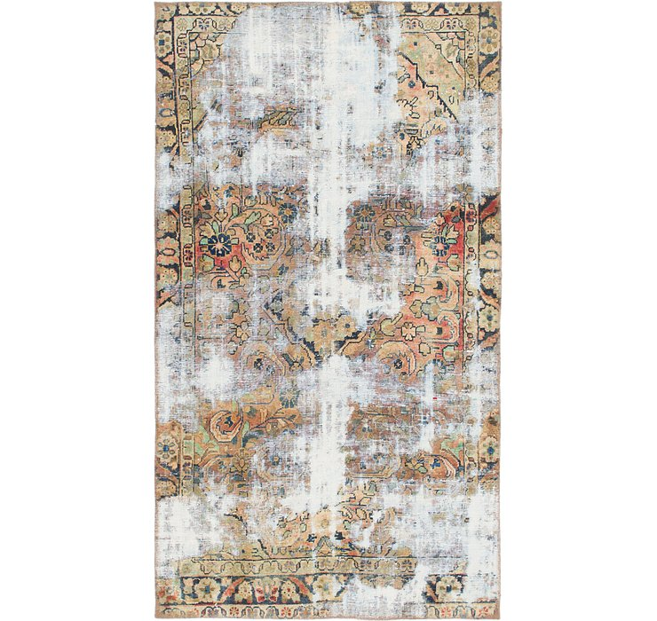 3' 9 x 6' 8 Ultra Vintage Persian Rug