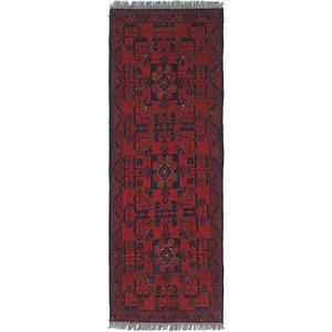 Unique Loom 1' 9 x 5' Khal Mohammadi Runner Rug