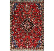 Link to 5' 3 x 8' Hamedan Persian Rug