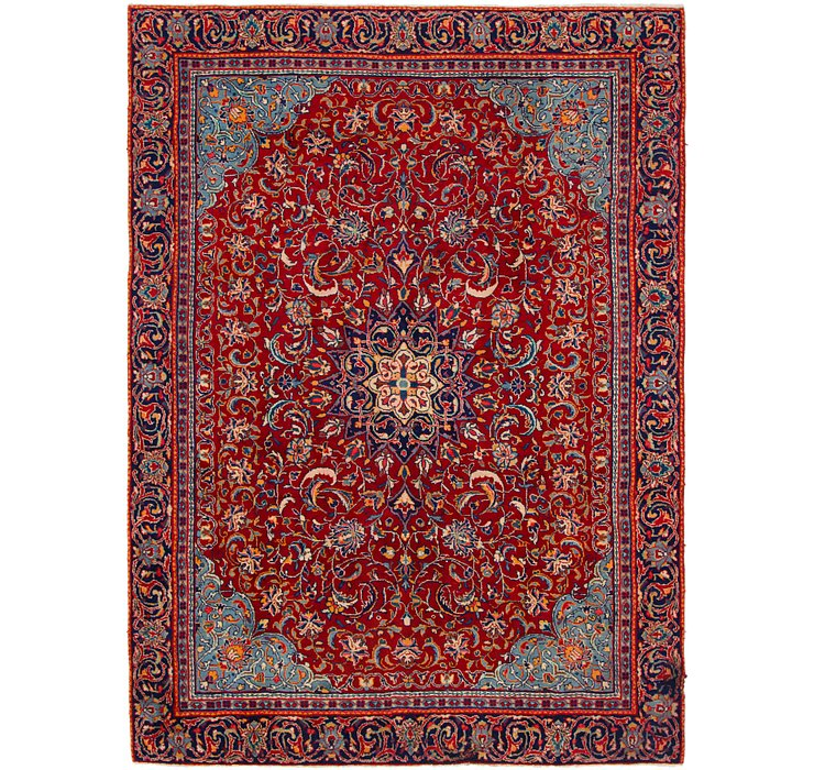 HandKnotted 7' 2 x 10' Mahal Persian Rug