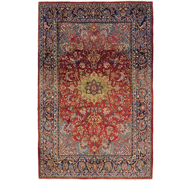 6' 5 x 10' Mashad Persian Rug