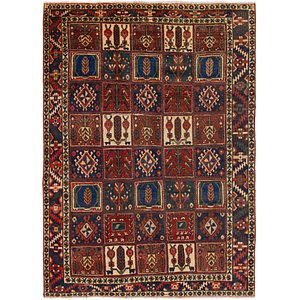 HandKnotted 6' 5 x 9' Bakhtiar Persian Rug