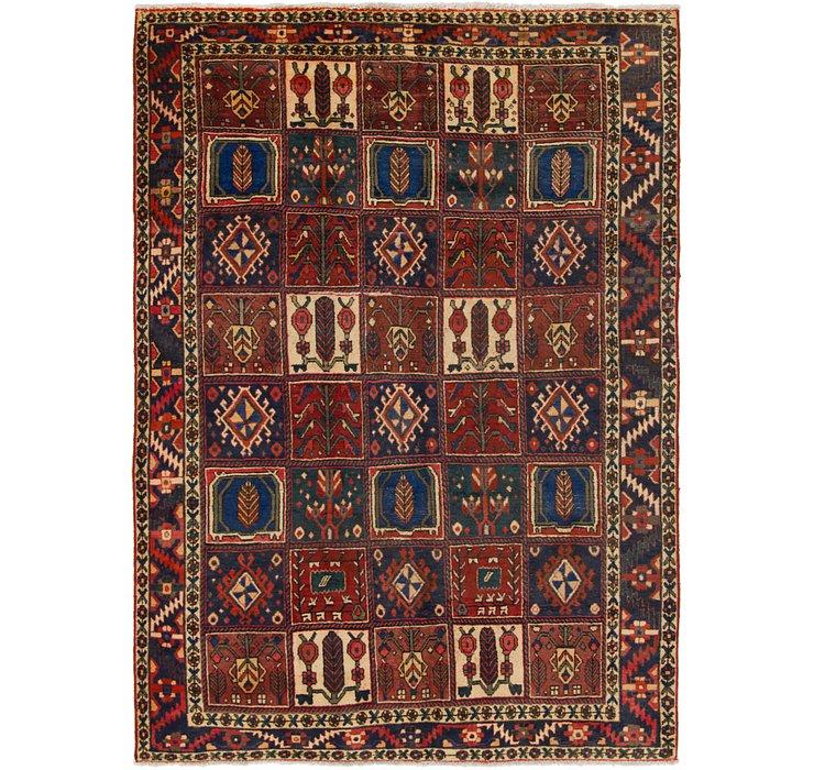 6' 5 x 9' Bakhtiar Persian Rug