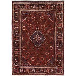 7' 2 x 10' 2 Joshaghan Persian Rug
