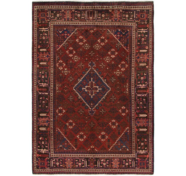 218cm x 310cm Joshaghan Persian Rug