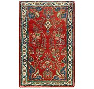 Link to 3' 7 x 5' 7 Hamedan Persian Rug