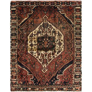 HandKnotted 4' 9 x 6' 5 Bakhtiar Persian Rug