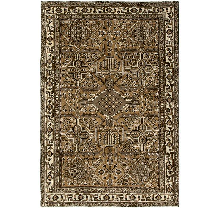 6' 7 x 9' 10 Ferdos Persian Rug