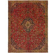 Link to 7' 2 x 9' 3 Mashad Persian Rug