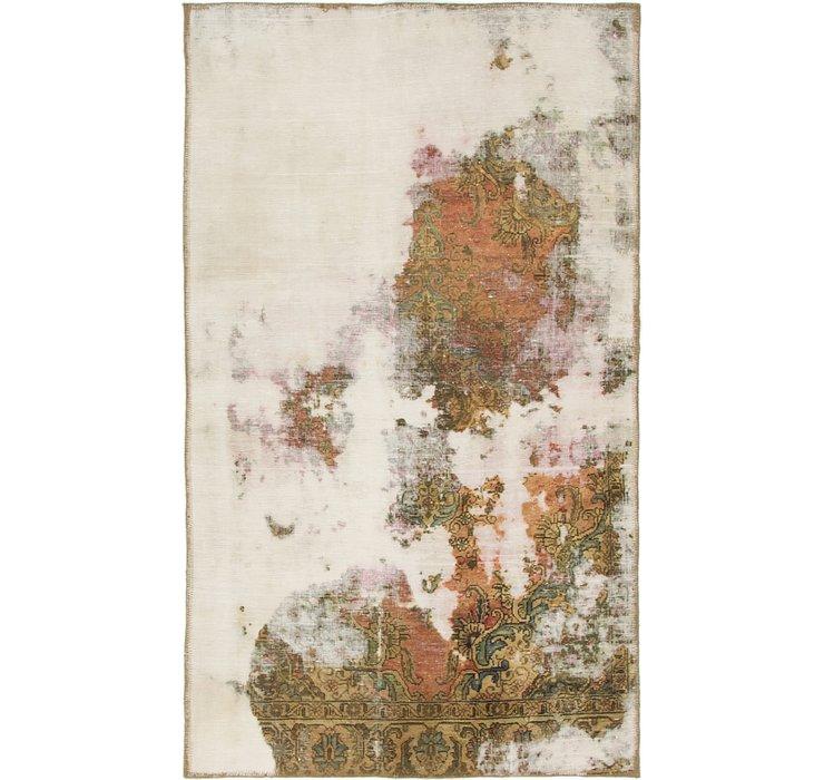 102cm x 173cm Ultra Vintage Persian Rug