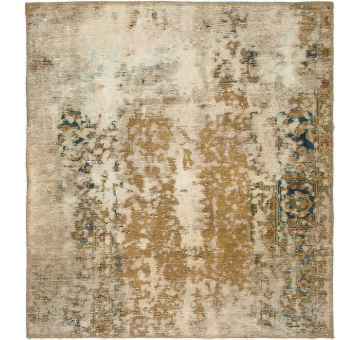 3' 3 x 3' 8 Ultra Vintage Persian S...