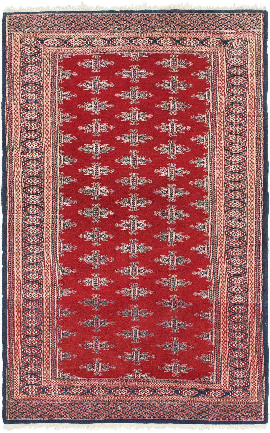 Red 3 3 X 5 2 Bokhara Oriental Rug Oriental Rugs Handknotted Com