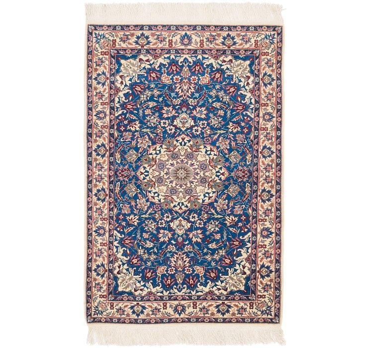 3' x 5' Isfahan Oriental Rug
