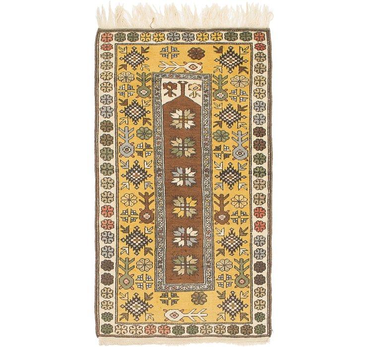 3' x 5' 3 Kars Oriental Rug