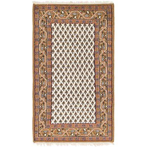 HandKnotted 3' x 5' 5 Mir Rug