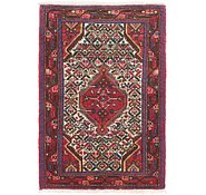 Link to 3' 5 x 5' Hamedan Persian Rug