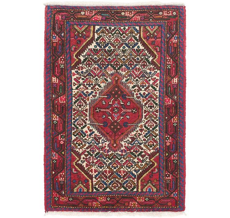 3' 5 x 5' Hamedan Persian Rug