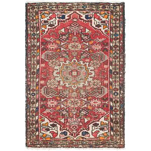 Link to 2' 5 x 3' 10 Hamedan Persian Rug item page