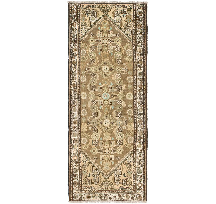 3' 3 x 8' 3 Hamedan Persian Runner ...
