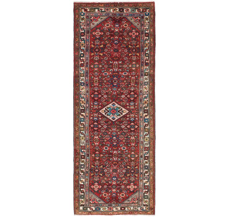 110cm x 297cm Hossainabad Persian Run...