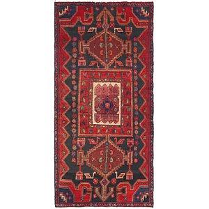 3' 4 x 7' Zanjan Persian Runner Rug