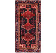 Link to 4' 4 x 9' Hamedan Persian Runner Rug